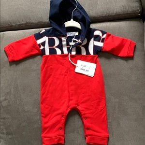 Ice Iceberg - Baby Boy Hooded Jumpsuit - NEW